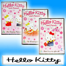 HELLO KITTY WITH MIMI & FRIENDS ANIMATED CARTOON KIDS DVD NEW dvds for girls