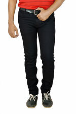 Branded Slim Fit Jeans For Men Black Colour Strechable Jeans
