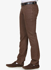 Branded Narrow Fit Jeans For Men Brown Colour Strechable Jeans