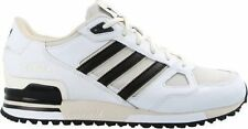 SCARPE ADIDAS ZX 750 B24851 MODA RUNNING UOMO FASHION WHITE BLACK