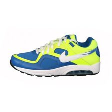 Nike Air Max Go Strong Sneakers Basse Uomo Blu Giallo Fluo