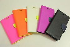 MERCURY FANCY DIARY FLORESCENT FLIP COVER CASE FOR SAMSUNG GALAXY S5 ( G900I )