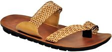 Guardian Stylish Brown Color Leather Mens Thong Sandal avail. in Size-6