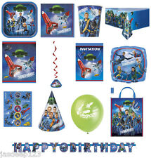 Thunderbirds Space Party Tableware Kids Birthday Party Decorations Supplies Ship