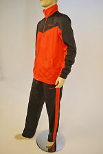 Reebok Mens Core Tricot Tracksuit Red/Black B80009 active wear Size S