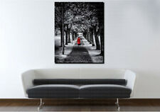 Red Coat Black and Red Art Canvas Poster Print Home Wall Decor