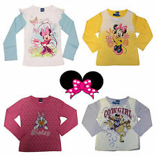 Langarm T-Shirt Gr.92-128 Minnie Mouse Maus Daisy Duck Disney Mickey Mouse