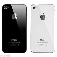 100% Brand New Premium Back Glass Rear Housing Plate Panel Door For iPhone 4