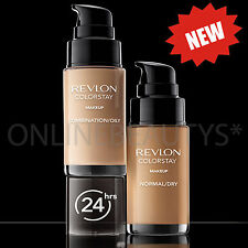Revlon Colorstay Pump 24HR Make Up SPF20 Comb/Oily Skin 30ml - Choose Shade
