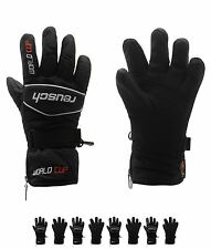 SPORTS Reusch Worldcup Junior Sci Guanti Black