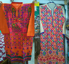 Cotton kathiyawadi kurti Embroidered (XL-42) From Kutchh