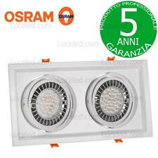 FARETTO DA INCASSO DA 70,6W CON PREVALED COIN DI OSRAM SPECTRUM LED MDD DUE maxi