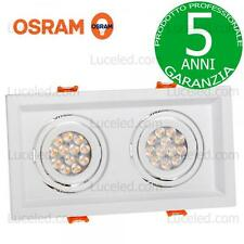 FARETTO DA INCASSO DA 23,6W CON PREVALED COIN DI OSRAM SPECTRUM LED MDD DUE mini