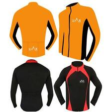 Mens Cycling Jersey Full Sleeves Jacket Bicycle Cycle Shirt Jersey S to XXL