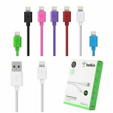 Belkin Mixit USB Lightning Cable Charger Data Sync Apple iPhone 6 5 5S iPad mini