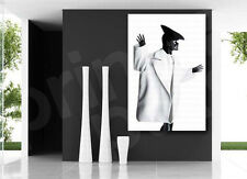 Black & White Stylish Modern Retro Model Canvas Art Poster Print Wall Decor