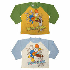 Baby T-Shirt Gr.80-92 Langarm Shirt Donald Duck Mickey Mouse Disney