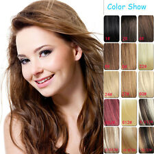 New 120G Full Head Set Clip In 100% Human Remy Hair Extensions 7pcs/set all size
