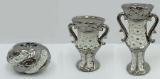 Silver Art Deco Tealight Holder, Candle Holders