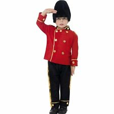 Kids Boys Busby Guard Fancy Dress Children Busby Guard Boys  Costume