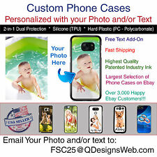 Custom Personalized Photo Picture Logo Phone Case Gift for iPhone Samsung LG HTC