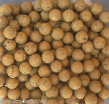 STICKY BAITS MANILLA SHELF LIFE BOILIES TASTER PACKS in 12mm, 16mm or 20mm