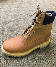 Women's Timberland Classic 6'' Premium Boot Distressed Tan / Blue Suede A196U