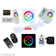 DC 12V 12/18A RF RGB LED-Lichtleiste Touch-Panel Dimmer Kabellos Wi-fi