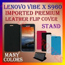 ACM-MULTICOLOR IMPORTED LEATHER CASE of LENOVO VIBE X S960 MOBILE FLIP COVER