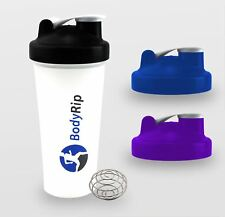 BodyRip 600ml 20oz PROTEIN SHAKER BLENDER MIXER BOTTLE CUP NUTRITION DIET DRINK