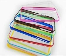 COVER CUSTODIA MORBIDA IN SILICONE TRASPARENTE TPU COMPAT X APPLE iPHONE 5G VARI