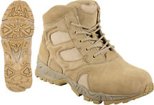 """Desert Tan Military Forced Entry Deployment Combat Tactical 6""""BOOTS SIZE 5 TO 13"""