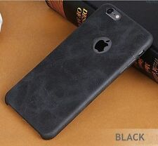 Classy Leather Finished Hard Back Cover Case For Apple iPhone 5/5s/SE*