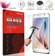 Retail Box Tempered Glass Screen Protector Samsung Galaxy S5 S6 S7 Note 5 4 Lot