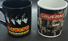 Cavern Club Mug - White Newspaper or Beatles Black