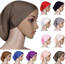 Cover Head Scarf Cotton Underscarf Muslim Hijab Women Islamic Headwrap Bonnet
