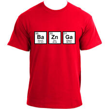 Big Bang Theory BaZnGa Periodic Table Sheldon Cooper Bazinga Geek T-Shirt