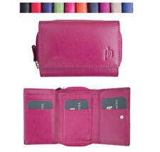 Women Leather Wallet Purse Clutches Card Prime Hide 22830 Gift Idea For Her