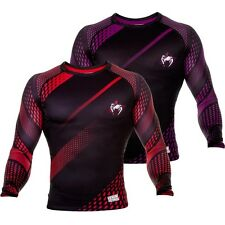 VENUM RAPID LONG SLEEVE RASHGUARD - MMA Bjj Training Sparring