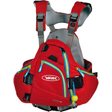 Yak Hallertau 70N White Water PFD Buoyancy Aid 2015 - Red