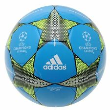 Adidas UEFA Champions League Match Ball Capitano Football Solar Blue Soccer Ball