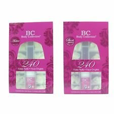 Body Collection False Nails / Tips - 240pk With Glue