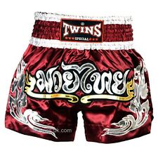 Twins Special Burgund Muay Thai Boxing Shorts