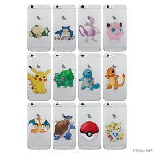 Pokemon Case/Cover Apple iPhone 5 5S SE + Screen Protector / Soft Silicone Gel