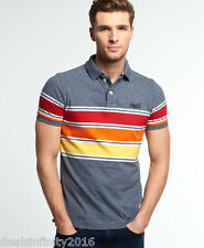 Super Dry Chest Band Grindle Polo Shirt- ECLIPSE GRINDLE
