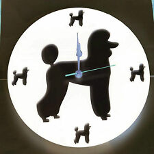 Acrylic Cut Out Dog Clock