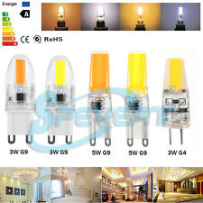 G4 G9 3W 5W COB/SMD LED Ampoule Lampe Spot Light Bulb Blanc Chaud froid 12V 220V