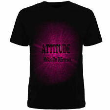 Tshirts ( Attitude Makes ) , Mens tshirts, Slogan T-shirts
