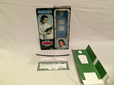 "custom Vintage Star wars esb 12"" princess leia bespin escape box + inserts"