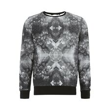 Tom Tailor Denim Sweatshirt mit All-Over-Print Herren Sweat NEU